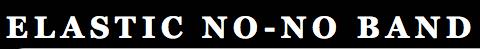 Elastic No No Band Logo